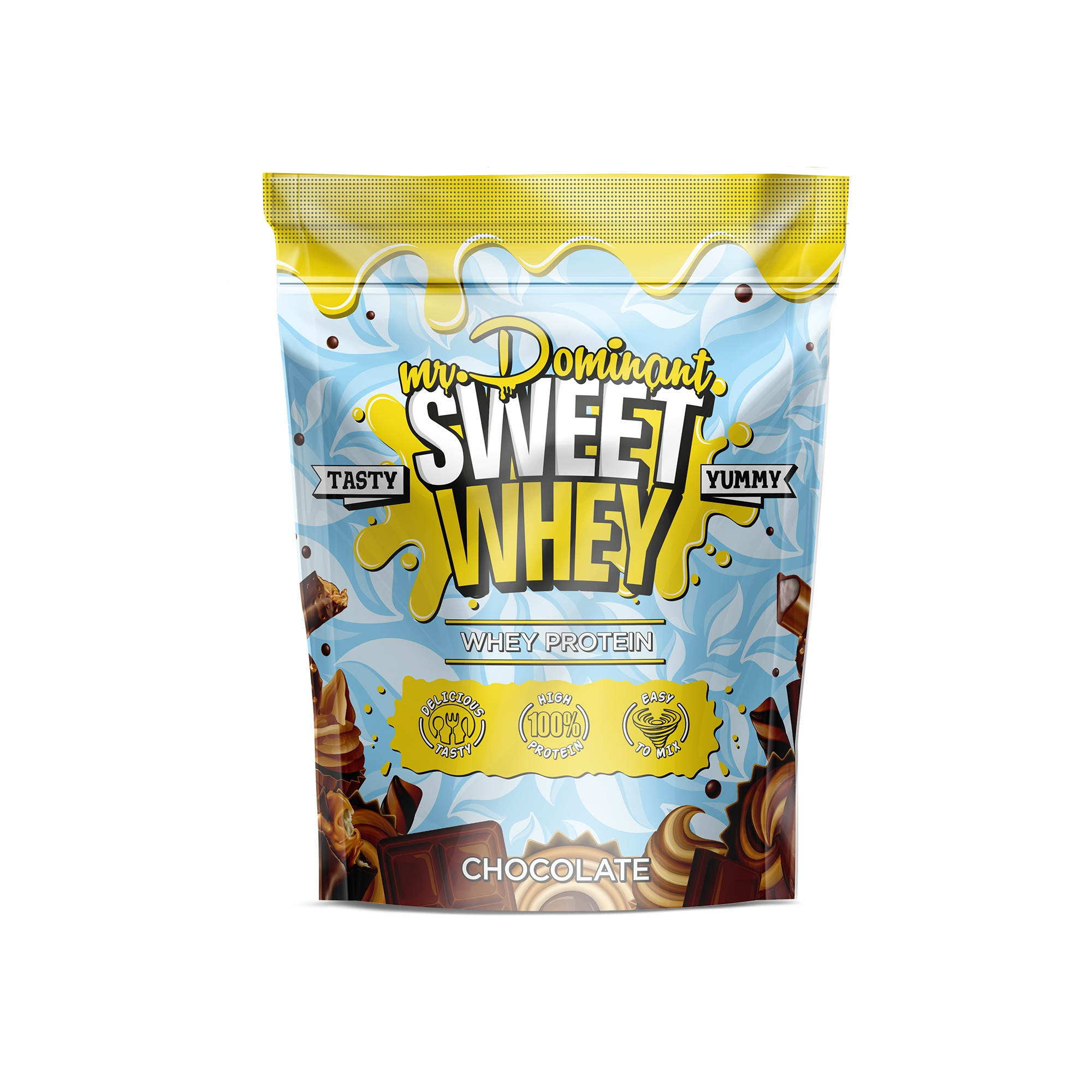 mr.Dominant SWEET WHEY 900gr/30serv шоколад