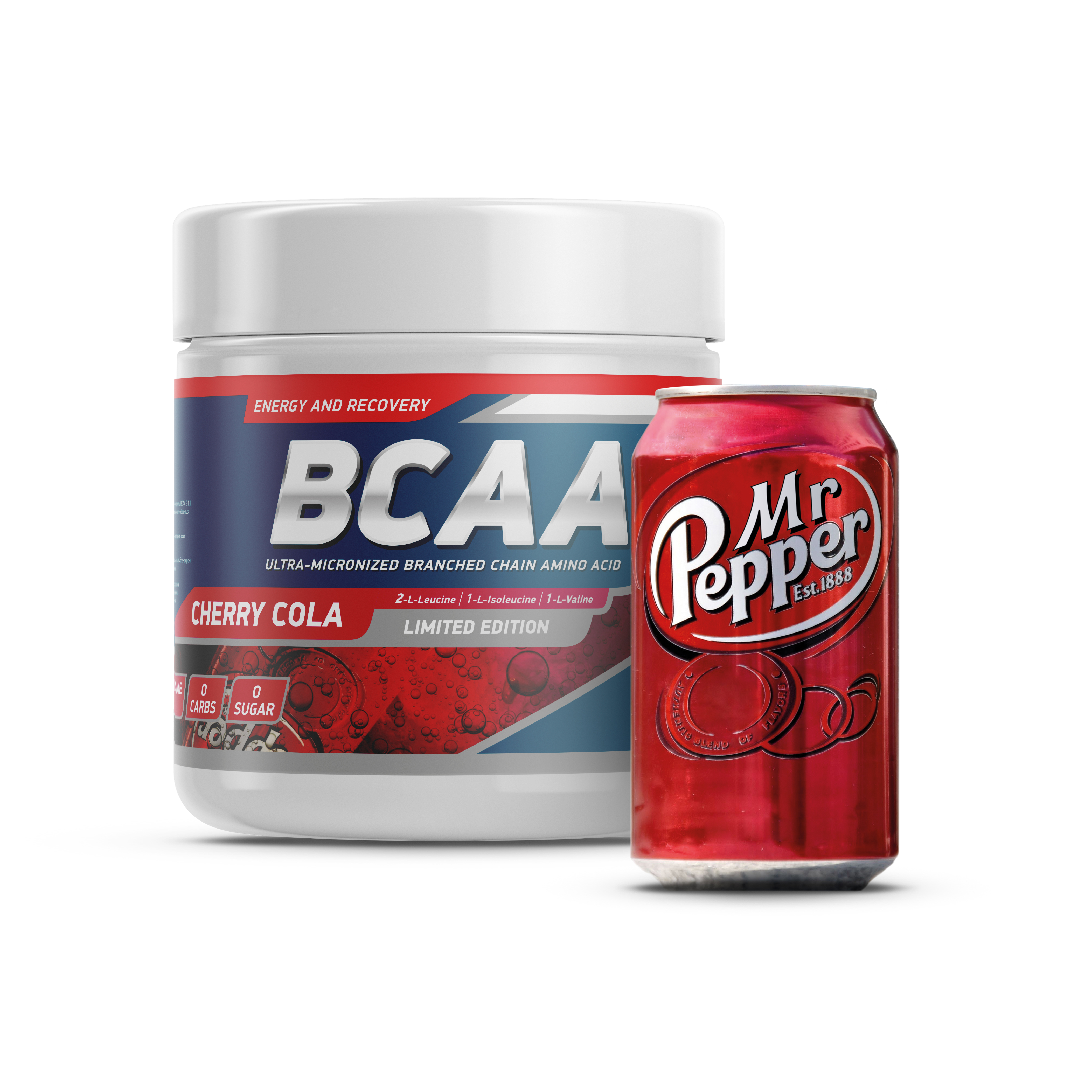 Geneticlab BCAA 2:1:1 250gr/50serv  Mr. Pepper