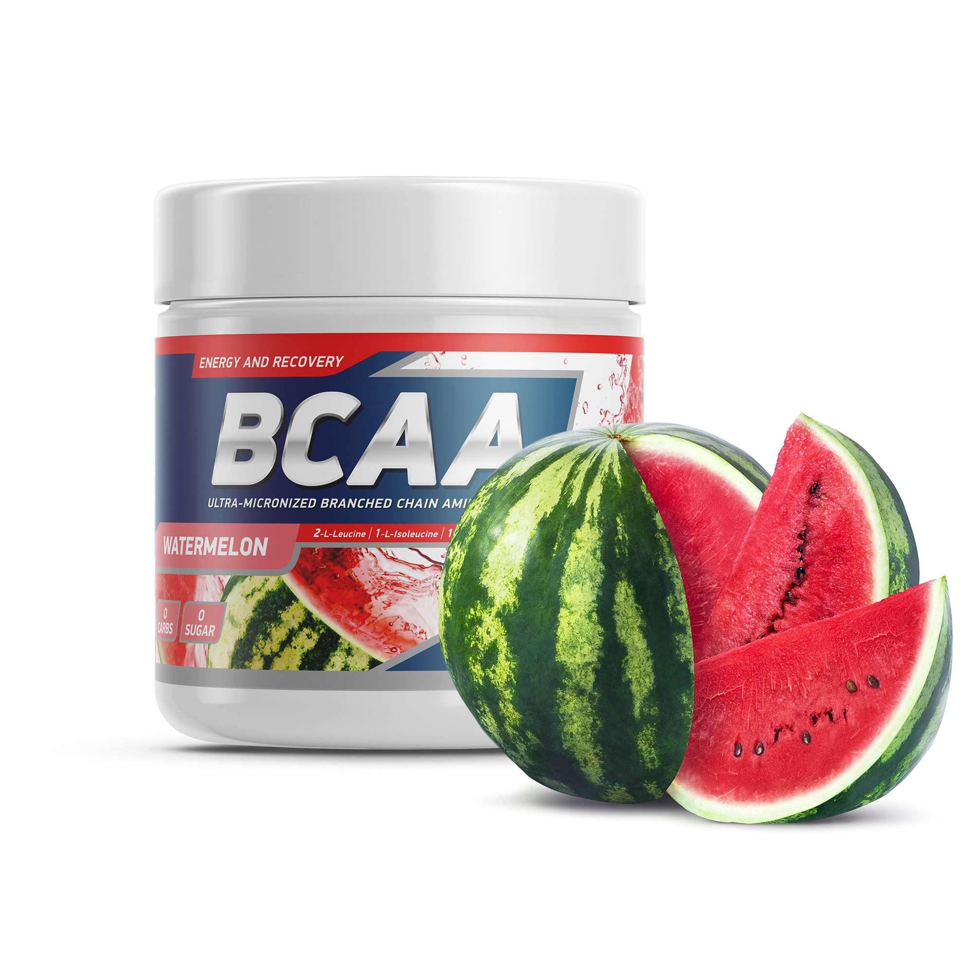 Geneticlab BCAA 2:1:1 250gr/50serv  Watermelon Арбуз