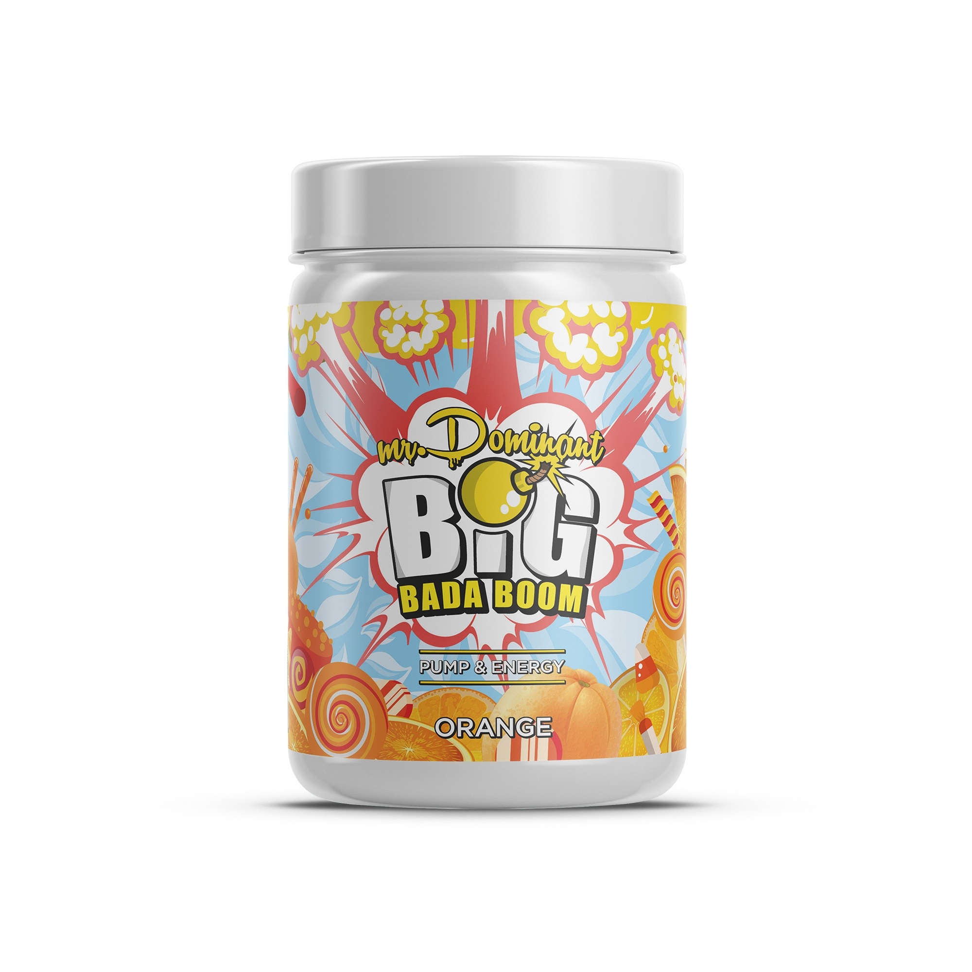 mr.Dominant BIG BADA BOOM 300gr/60serv апельсин