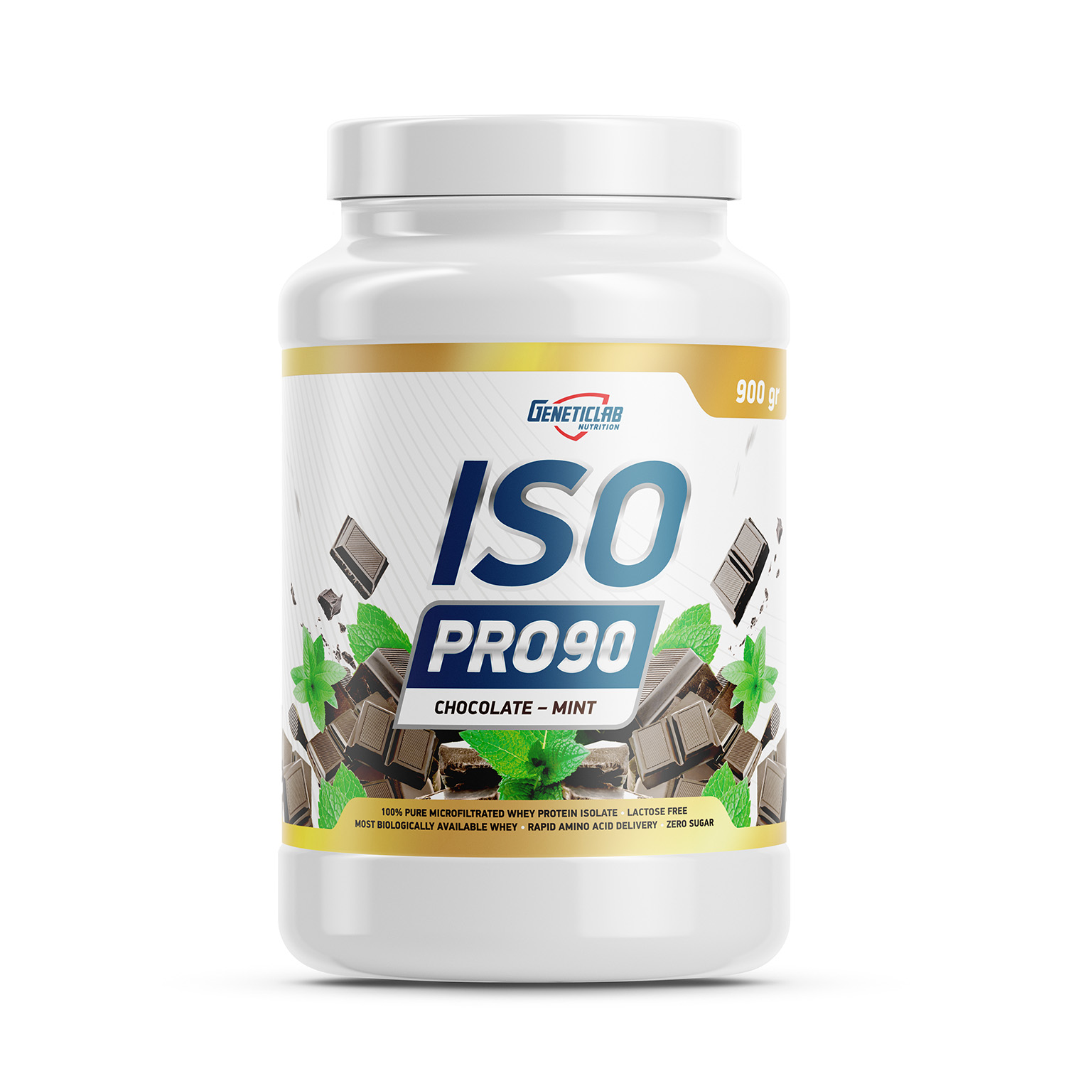 Geneticlab ISO PRO 900gr/27serv Chocolate&mint