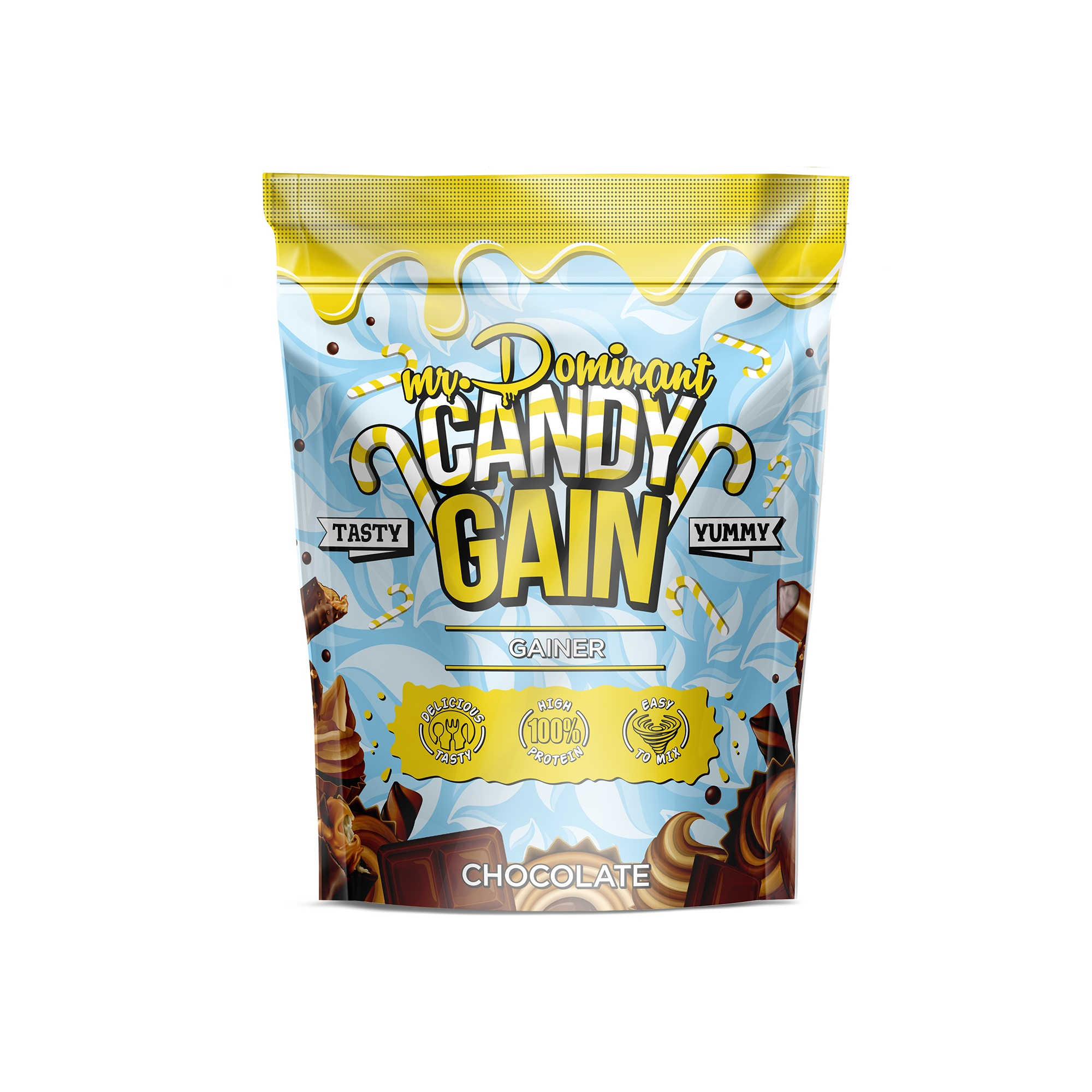 mr.Dominant CANDY GAIN 1000gr/10serv шоколад