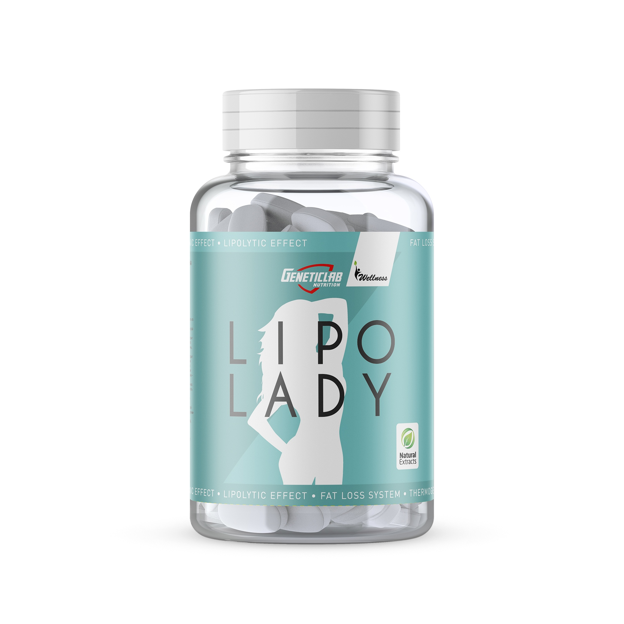 Geneticlab Lipo Lady 30serv/120caps/765mg