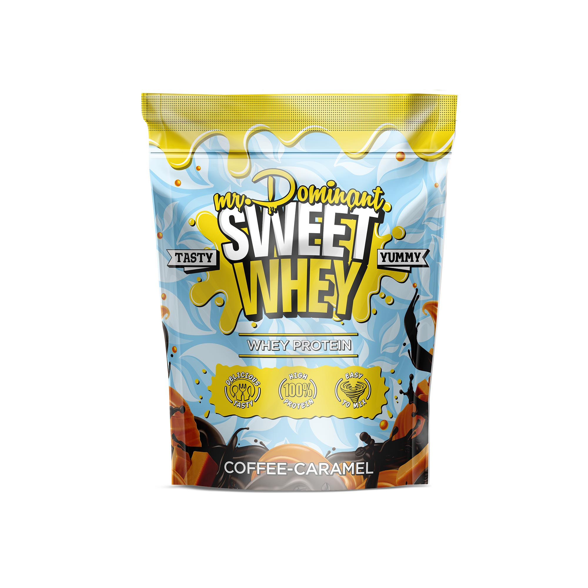 mr.Dominant SWEET WHEY 900gr/30serv кофе-карамель
