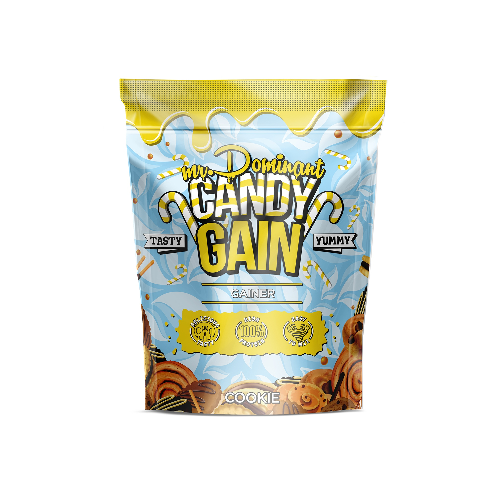 mr.Dominant CANDY GAIN 1000gr/10serv печенье