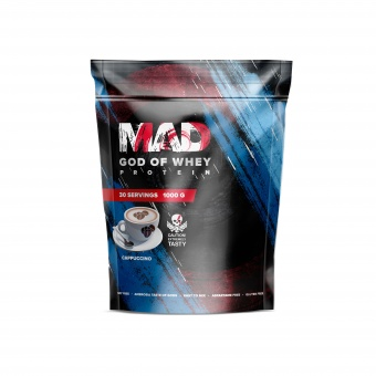 GOD OF WHEY 1000g/30serv Cappuccino (Пакет)
