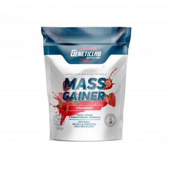 Geneticlab MASS GAINER 1000gr/10serv Клубника
