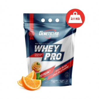 Geneticlab WHEY PRO 2100gr/70serv Orange