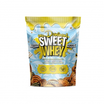 mr.Dominant SWEET WHEY 900gr/30serv печенье