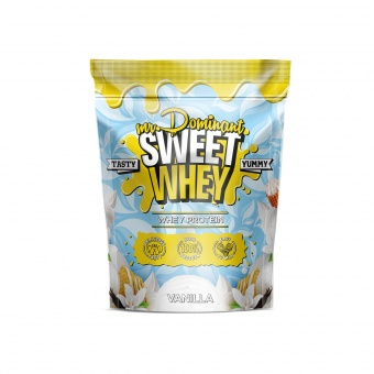 mr.Dominant SWEET WHEY 900gr/30serv ваниль