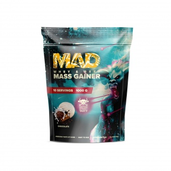 MAD WHEY & BEEF MASS GAINER 1000g/10serv Сhocolate