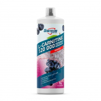 Geneticlab L-Carnitine Concentrate 1L  Виноград