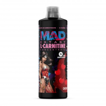 MAD EXTASY L-CARNITINE concentrate 1L/133 serv Вишня