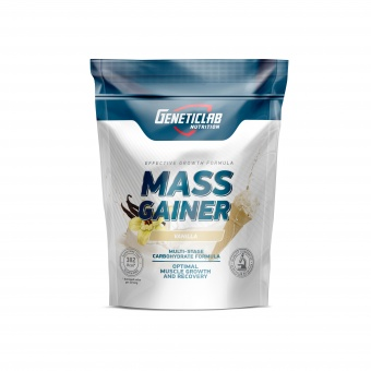 Geneticlab MASS GAINER 1000gr/10serv Ваниль