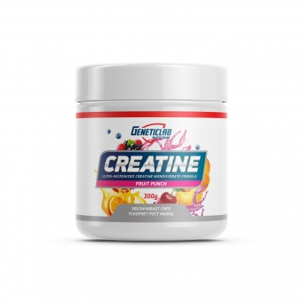 Geneticlab CREATINE  300gr/ 60 serv FRUIT PUNCH